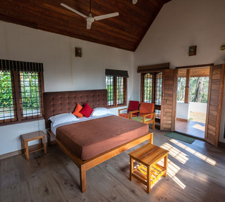 best cottages in thekkady